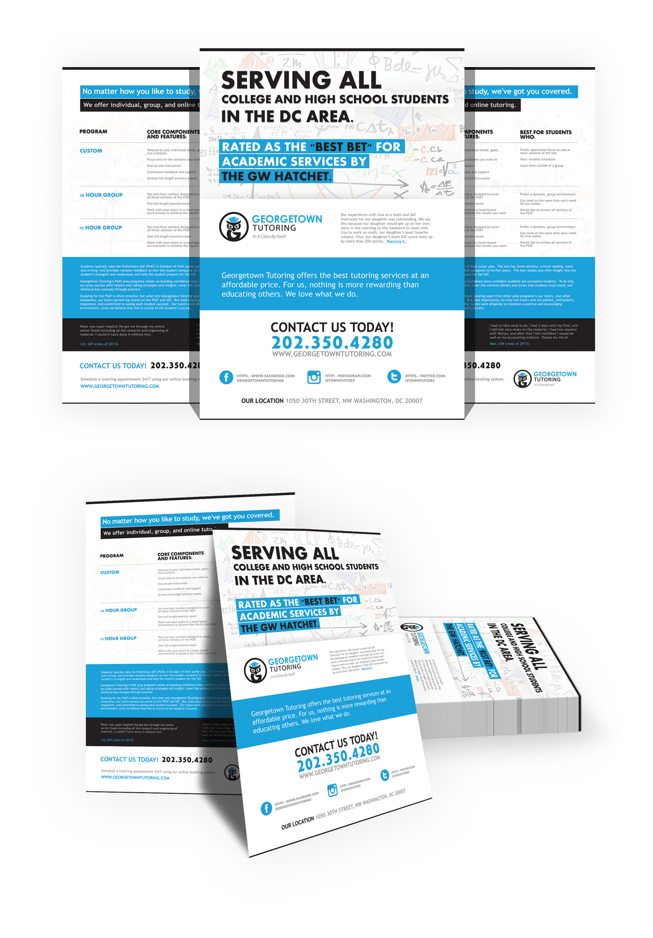Georgetown Tutoring | Flyer Design