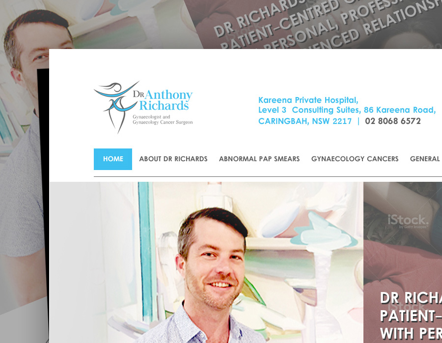 Dr Anthony Richards | Website | Logo | Branding