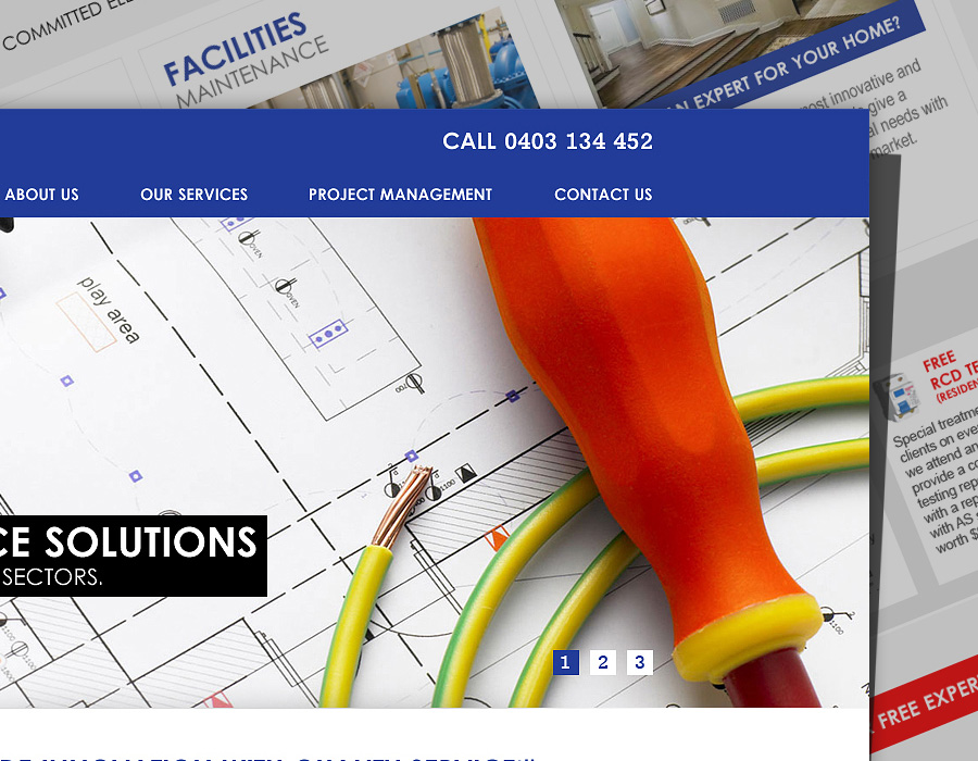 PSG Electricals | Website Design
